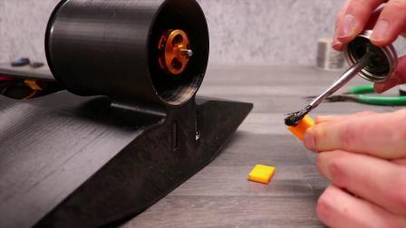 3D打印的气动遥控船
