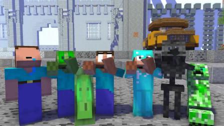 我的世界动画-怪物学院-高手vs菜鸟-全-MineCZ