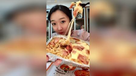 杨记️南瓜什锦盒子培根芝士焗饭