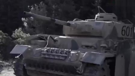 行军途中遭遇坦克,看机枪手疯狂扫射超过瘾!