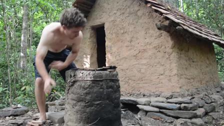 澳洲小哥 第10集 原始工艺烟囱和锅