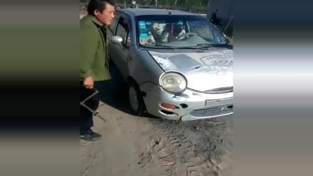国内牛人改装,奇瑞QQ柴油机版,常柴机器代替汽车发动机
