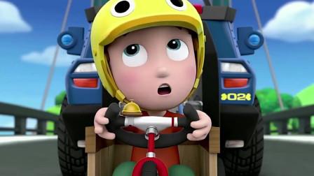 汪汪队莱德和灰灰帮雅丽改造他的三轮车,这下雅丽终于可以上路