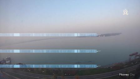 苏州湾湖边日落-延时摄影清明假期度假随拍(2019)