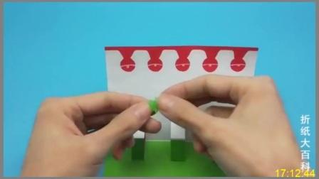 打开会弹出圣诞老人、圣诞树的立体贺卡手工制作,大家收到很喜欢