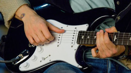 Behind the PRS Silver Sky Guitar with John Mayer