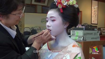 日本艺伎的脸上为什么喜欢抹厚厚的粉?