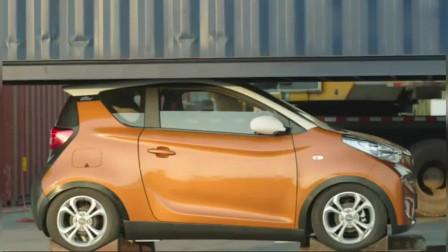 国产神车:7.6吨压在奇瑞小蚂蚁汽车上,到底会发生什么呢