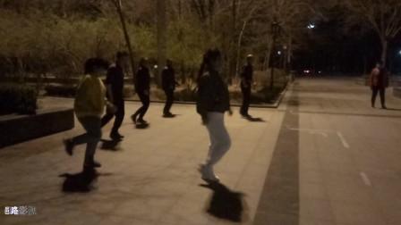 8步鬼步舞教程