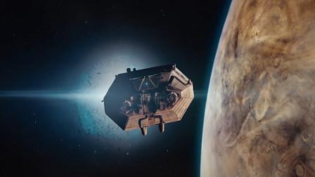 最新《异形之封闭》太空逃生舱即将获救,女子却在门上用血留下警告:别开门!
