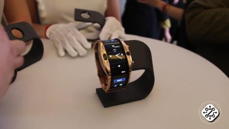 柔性屏完爆Apple Watch  努比亚α引领手机新未来
