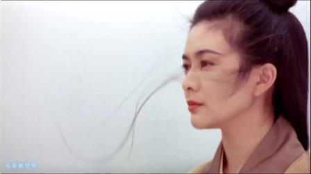 香港武侠电影最好的时光,关之琳当年超美的大特写镜头