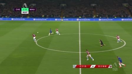 英超-阿扎尔1V4破门演梅开二度 切尔西主场2-0胜西汉姆联