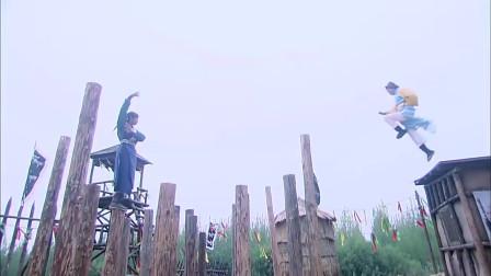 薛刚比武踩梅花桩,救了对手一命!