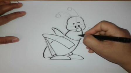 轻松卡通画之如何绘制卡通蚂蚁,一步一步详细教程在这了