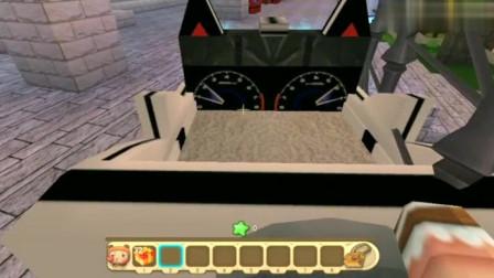 """迷你世界:更新新版""""水车"""",终于不需要木船了,直接在水面行走"""