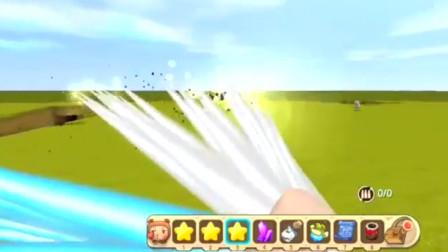 """迷你世界:全新""""雷暴枪""""武器,发射雷电激光,能变换攻击模式?"""
