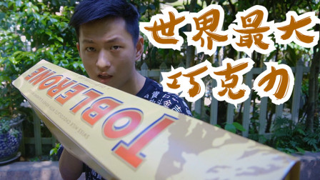 十斤重的巧克力怎么样?你能吃掉这个全世界最大的巧克力吗