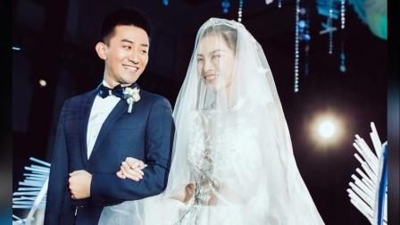 吴敏霞张效诚上海举办婚礼 蓝色超唯美 郭晶晶傅园慧高敏现身