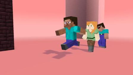 我的世界动画-史蒂夫在MC之中普通的一天-Mr Acid