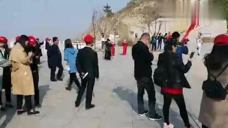 九色游甘肃永登猪驮山西北太平鼓表演