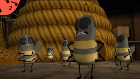 超级无敌掌门狗1血战大黄蜂第4期-萝卜吐槽番外