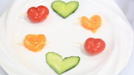 家庭来客人必备水果简单拼盘,简单易学,制作出来绝对拉风,放朋友对你另眼先看