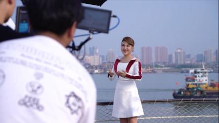 神秘女星现身武汉拍摄新歌MV,猜猜她是谁?