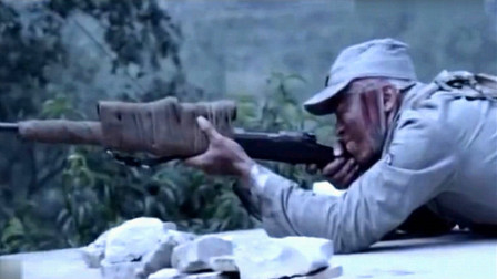 国产抗日神剧战争片,神勇无敌神枪手,一枪把鬼子手雷打爆
