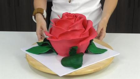 这么漂亮的花瓣蛋糕,制作过程很简单,一起跟着做起来吧