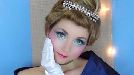十二点过后魔法也不消失哦,迪士尼公主灰姑娘仿妆