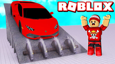Roblox汽车摧毁模拟器:黑洞吞噬汽车!