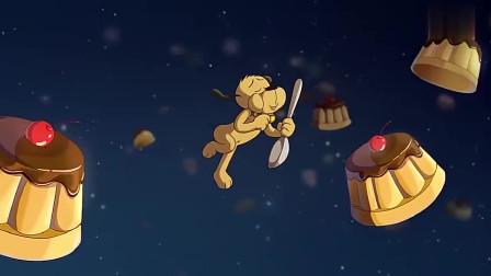 功夫兔与菜包狗菜包狗过生日,做梦都在吃蛋糕,结果太让人失望