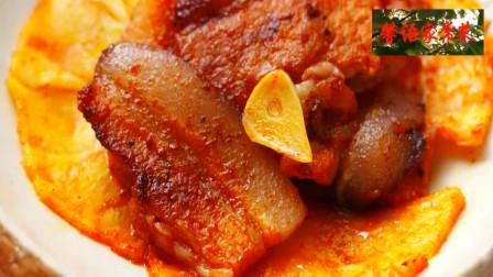 美食分享,吃货的首选,韩式泡菜锅,烤肉教你做上档次的懒人菜