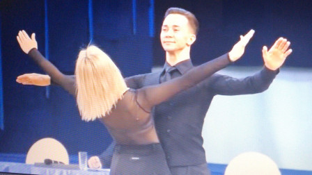 2019俄罗斯国标舞讲习摩登舞华尔兹示范表演1