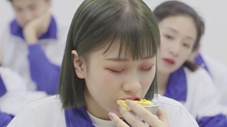吃货倩倩:松软可口的蛋挞,周围每一层脆皮,都透着浓浓的奶香味