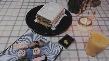 《小森林 冬春篇》双色蛋糕