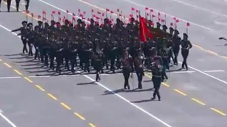 中国大阅兵上的经典瞬间