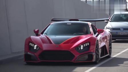 Zenvo_TSR-S-原厂自带迎风倒尾翼的1200匹跑车
