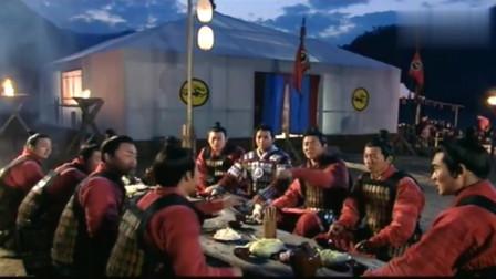 薛仁贵传奇:旗牌官与火头军一起庆祝胜利,兄弟感情更加牢固了!