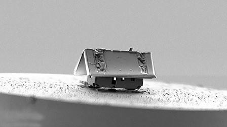用纳米机器人造房子?法国造出世界上最小的房子,螨虫都挤不进去!