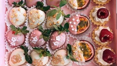 网红桃子千层蛋糕?不,70秒学会鲜果千层蛋糕,幼滑香甜