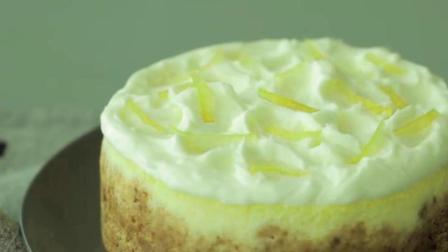 柠檬奶酪蛋糕做法: 2分钟教会你自制, 清新爽口, 甜而不腻的甜品, 简单易懂, 想学的赶快
