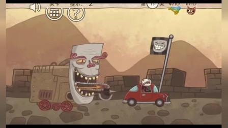 胖虎解谜: 怪兽车步步紧逼, 怎么才能顺利逃脱?