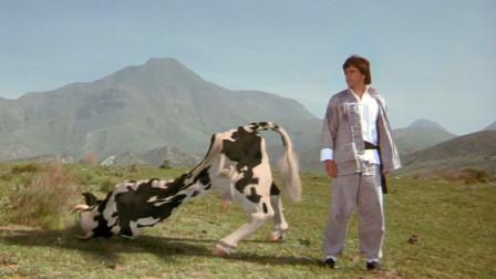 男子在动物的抚养下长大,练就一身超凡能力,将功夫奶牛榨干