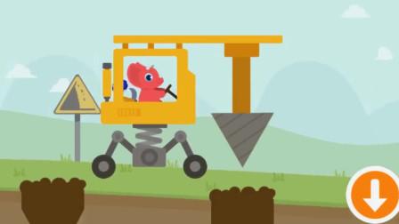 儿童汽车玩具视频 认识颜色 汽车总动员 玩具视频动画片03