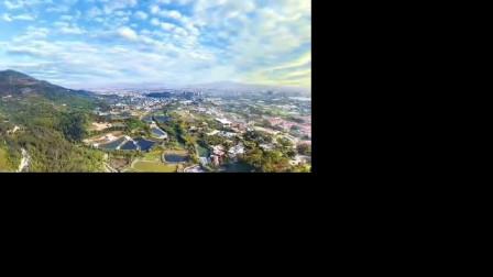 厦门·天竺山国家森林公园全景:绿野青山皆盎然,天光云影共徘徊
