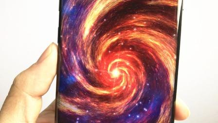 """教你设置""""黑洞""""动态手机壁纸,伴随螺旋星云超酷炫,科技感十足"""