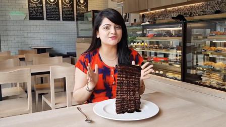 印度蛋糕店促销,吃完一块就免单,网友:来中国能把你吃破产