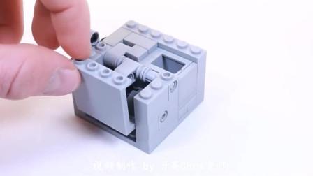 带你试玩乐高MOC系列史上最小的积木版密码保险箱